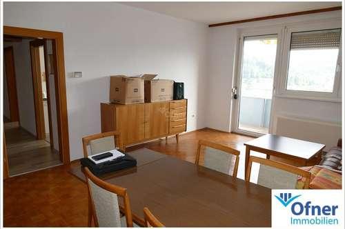 Helle 3-Zimmer-Wohnung in Köflach mit Loggia und Fernblick
