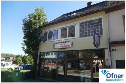 Wohn- und Geschäftshaus direkt bei der Hundertwasserkirche Bärnbach