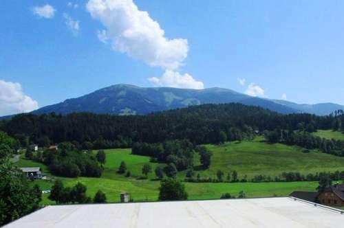 Penthouse mit einzigartiger Aussicht in sonniger und ruhiger Berglage
