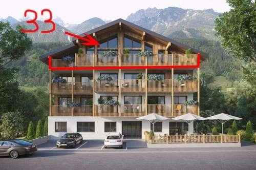 "Neubauprojekt ""APART33"" in Haus im Ennstal - Penthousewohnung Top 33"