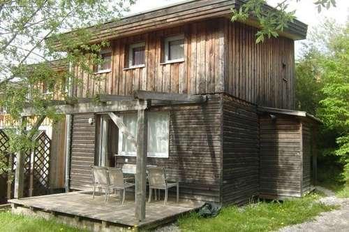 KAUFVEREINBARUNG!!! Holzblock-Ferienhaus in schöner Naturlage