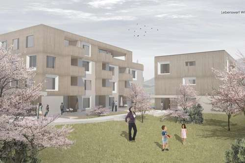 EG-Neubauwohnung mit westseitig ausgerichtetem Garten!