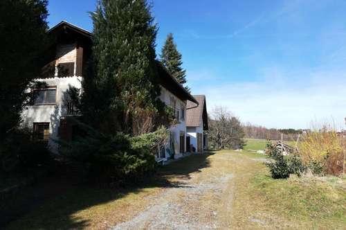 REDUZIERT!!! Wohnhaus mit großem Grundanteil in schöner Schilcherland-Lage