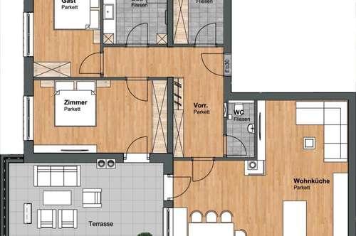 NEUBAU!!! Exklusive Penthousewohnung mit großer Südterrasse