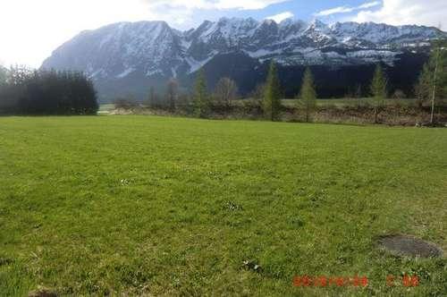 Grundstück mit wunderbarem Grimmingblick