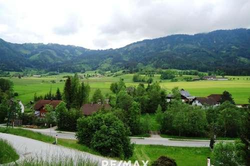 Super Schnäppchen!!! Sonniges Grundstück mit Grünblick in Lassing-Heuberg