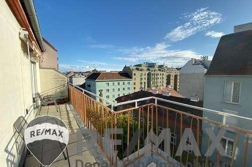 """Dachgeschosswohnung mit Terrasse nähe U1-Reumannplatz"""