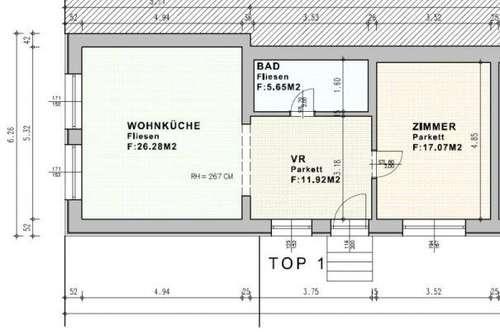 WG04/19 * Zentral gelegene Wohnung nähe See