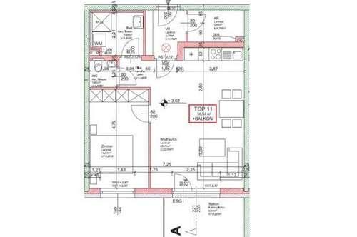WG27/19 * NEUE EXKLUSIVE - Wohnung Top 11