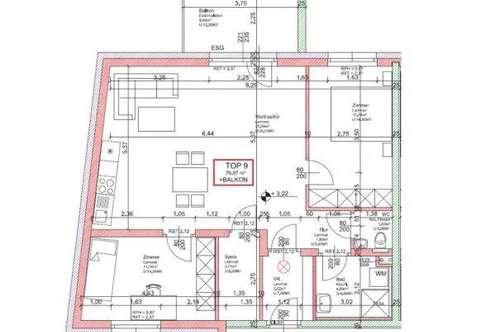 WG25/19 * NEUE EXKLUSIVE - Wohnung Top 9