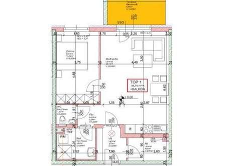 WG17/19 * NEUE EXKLUSIVE - Wohnung Top 1