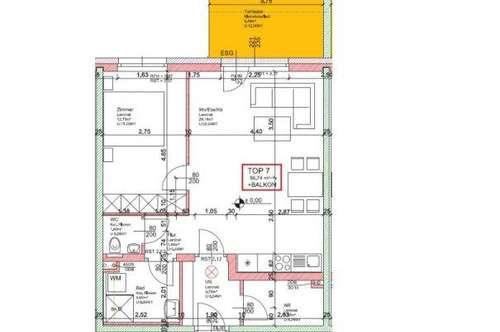 WG23/19 * NEUE EXKLUSIVE - Wohnung Top 7
