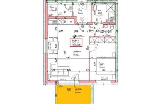 WG19/19 * NEUE EXKLUSIVE - Wohnung Top 3