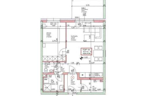 WG30/19 * NEUE EXKLUSIVE - Wohnung Top 14