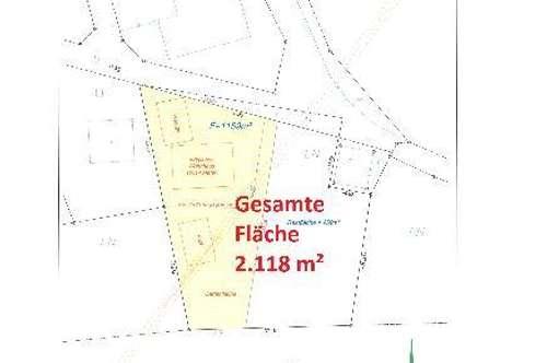Baugrundstück Stein im Jauntal mit 2.118m²