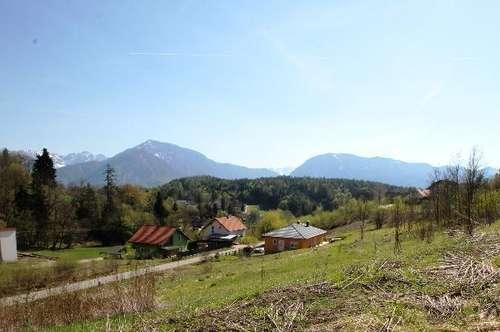 Baugrundstücke in Maria Rain, St. Ulrich, viel Natur, Wald und Sonne