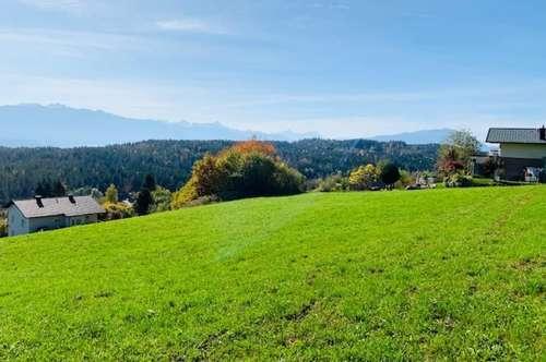 Grundstück in traumhafter Aussichtslage Köstenberg/Velden!