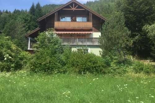 Wohnhaus/Ferienhaus im Erholungsgebiet Bodental