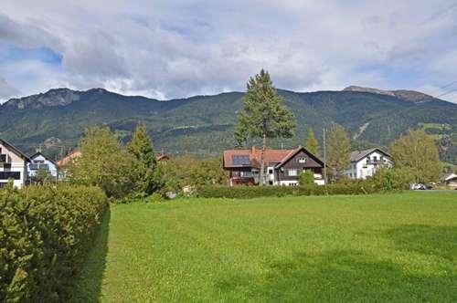 Zentraler, sonniger Baugrund, Aussichtslage in Kötschach