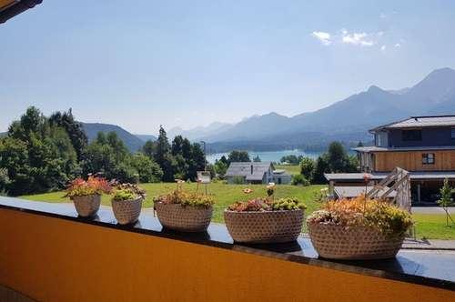 Luxuriöse Villenetage mit Dachloft am Faaker See