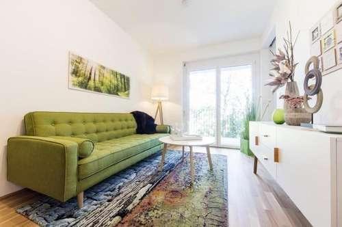 Puntigam - Brauquartier - Erstbezug - 35m² - 2 Zimmer Wohnung - großer Balkon
