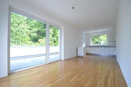 PROVISIONSFREI - Ries - NEUBAU - 68m² 3 Zimmer - große Dachterrasse - Grünblick