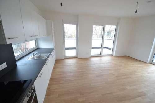 ERSTBEZUG - Jakomini - 46m² - 2 Zimmer Penthouse Wohnung - Dachterrasse - inkl. Carport