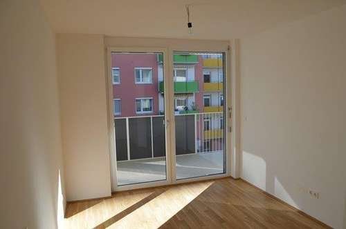 ERSTBEZUGSCHARAKTER - Liebenau - 52m² - 3 Zimmer Wohnung - 15m² Balkon - WOHNBEIHILFEFÄHIG