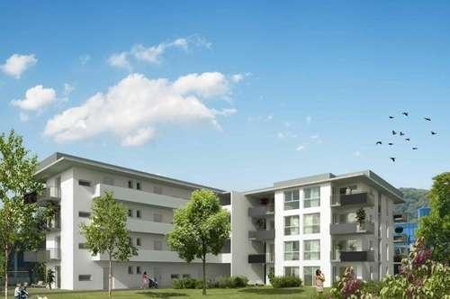 ERSTBEZUG - Gösting - 35m² - 2 Zimmer Wohnung - 17m² Terrasse - herrlicher 112m² Eigengarten