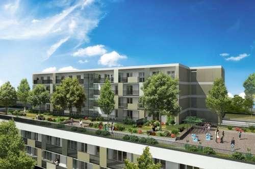 ERSTBEZUG - Brauquartier - Puntigam - 35m² - 2 Zimmer Wohnung - 13m² Balkon