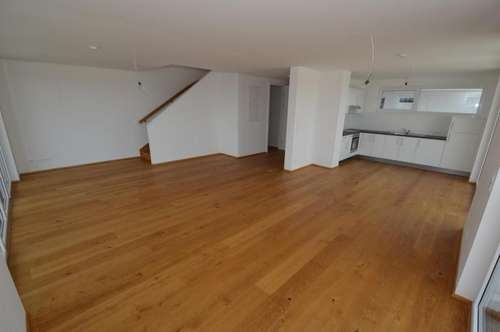 Liebenau - 128 m² - PENTHOUSE - Maisonette mit 60 m² Dachterrasse - ERSTBEZUGSCHARAKTER