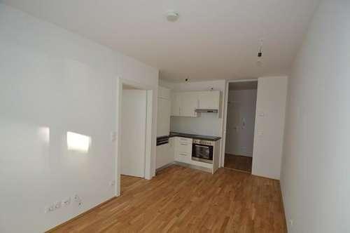 ERSTBEZUGSCHARAKTER - Annenviertel - 35m² - 2 Zimmer - Terrassenwohnung mit Garten - ideal für Singles