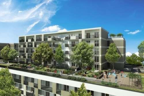 ERSTBEZUG - Brauquartier - Puntigam - 26m² - 7m² Westloggia - perfekte Singlewohnung