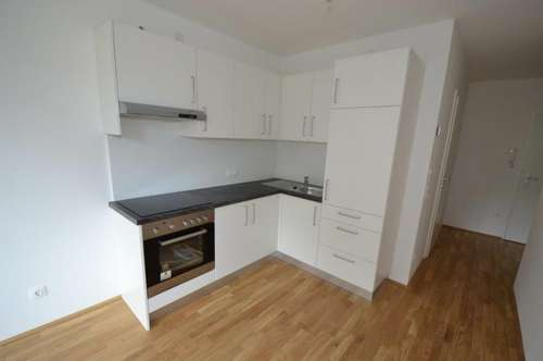 Neubau - Annenviertel - 40 m² - 2 Zimmer Wohnung - Top Aufteilung - 6 m² Loggia