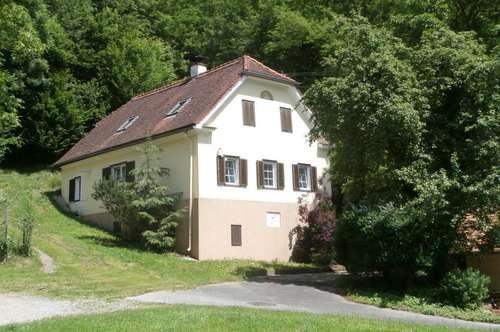 Nettes Landhaus mit Nebengebäuden in ruhiger Lage