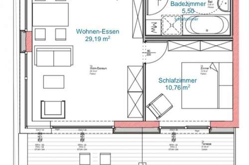 Gemütliche Penthousewohnung / Nähe Skipiste (Zweitwohnsitzfähig)