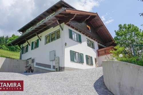 Ruhiges Einfamilienhaus in Seenähe mit Bergblick