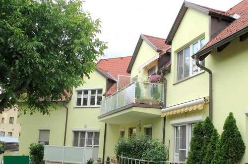 Gemütliche Dachgeschoßwohnung mit Balkon
