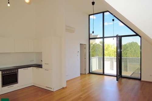Wunderschöne DG-Wohnung mit großem Balkon