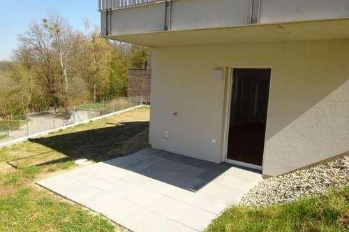 Erstbezug – Wunderschöne, sehr hochwertige 2-Zimmer Wohnung mit Eigengarten in Grünruhelage