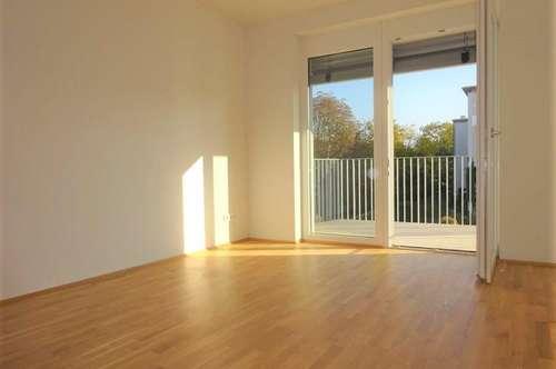 1. Monat mietfrei! Lichtdurchflutete, schöne 2-Zimmer-Wohnung mit ruhigem Balkon und KFZ-Abstellplatz - ERSTBEZUG