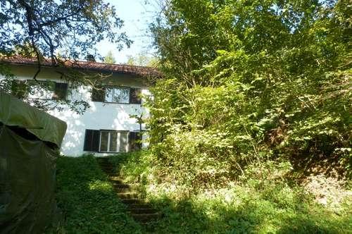 Grünruhelage - 3.378 m² großes Grundstück mit sanierungsbedürftigem Einfamilienhaus in absoluter Bestlage