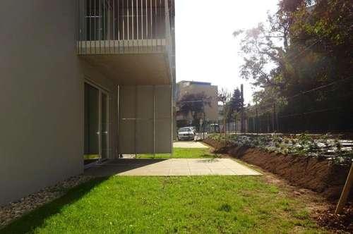 Sehr sonnige Neubauwohnung mit Terrasse in ruhiger, jedoch zentraler Lage