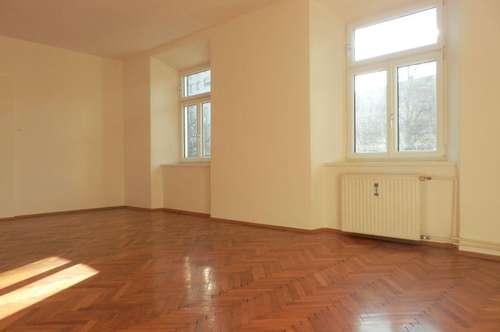 Sehr schöne, sanierte 2-Zimmer-Altbauwohnung mit KFZ-Abstellplatz in zentraler Lage, direkt am Lendplatz