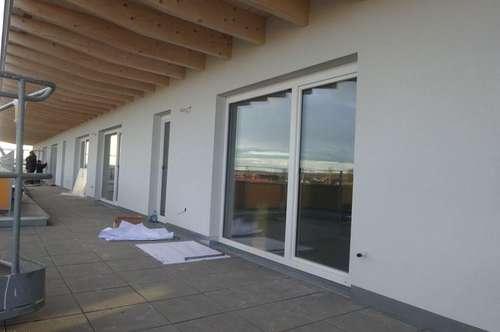 Sehr exklusives Anlageobjekt – Erstbezug 4-Zimmer-Penthouse-Wohnung mit großzügiger Dachterrasse in Feldkirchen bei Graz - PROVISIONSFREI