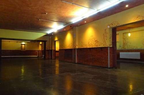 Perfekt aufgeteiltes Lokal - nutzbar als Bar, Club, Diskothek oder Verein