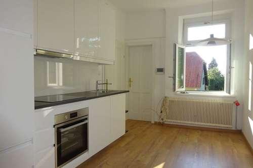 Erstbezug nach Sanierung – Wunderschöne, neu sanierte 2-Zimmer-Wohnung mit KFZ-Abstellplatz in Grünruhelage