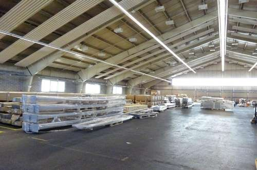 1000 m² große Lagerhalle in einem zentral gelegenen Grazer Büro- & Logistikcenter