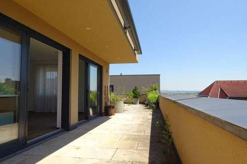 Sehr exklusive, ruhige 4-Zimmer-Penthouse-Wohnung mit großer Dachterrasse am Grazer Stadtrand