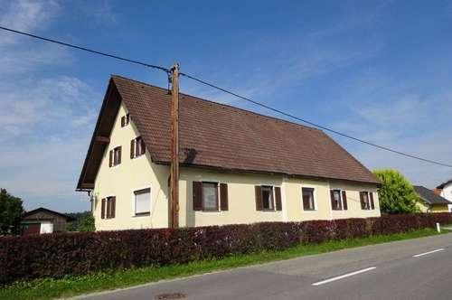 Ländlich gelegenes Einfamilienhaus mit 6 Zimmern und großzügigem Garten im Süden von Graz